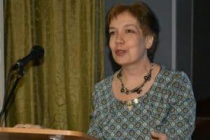 Алла Нестеренко выступает на Фрадковских чтениях