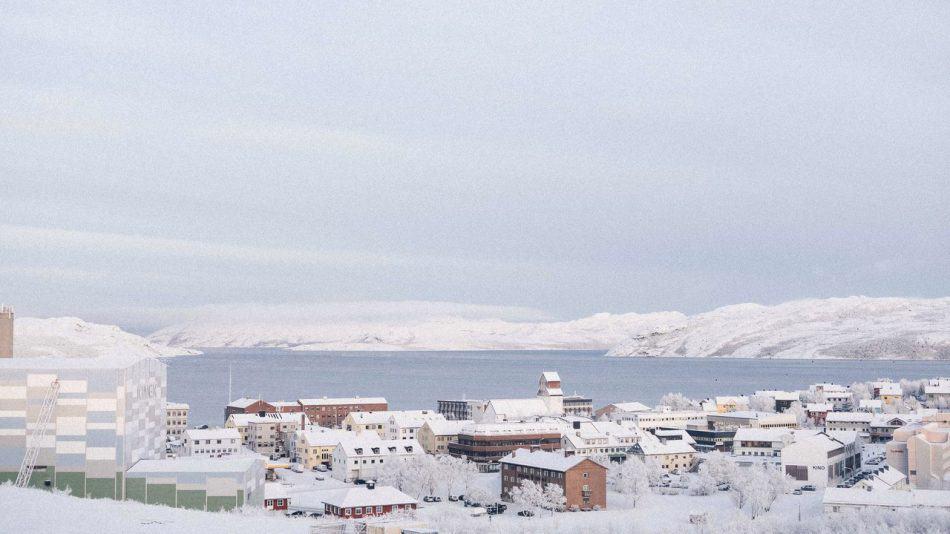 Город Киркенес. Фото www.barentsspektakel.no