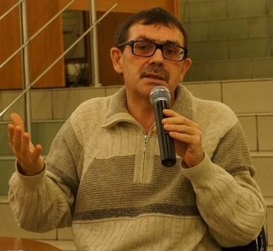 Председатель жюри премии Павел Басинский на встрече в ПетрГУ в 2013 году