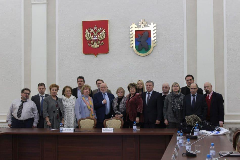 Участники миссии СПЧ и глава Карелии