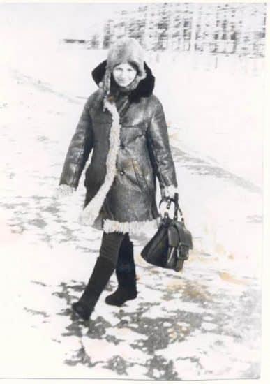 Валентина Акуленко. Дивногорск, 1973 год