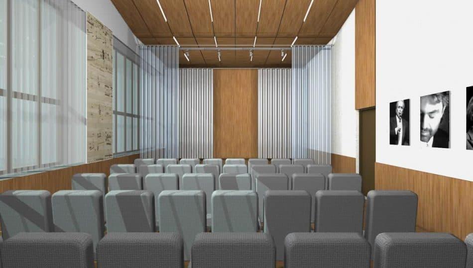 Оперный класс в консерватории. Проект Александра Савельева