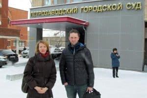 Глеб Яровой и адвокат Наталья Чернова