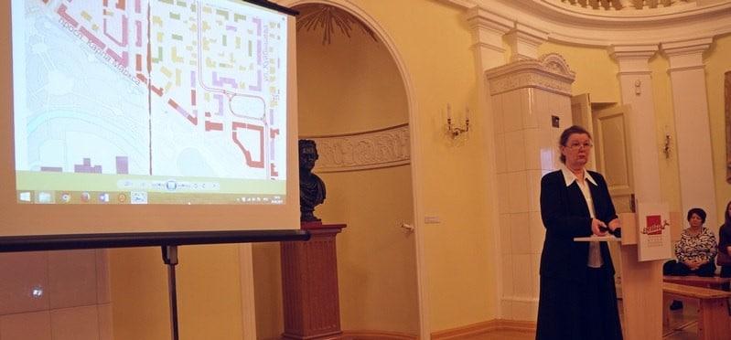 рНа лекции Елены Ициксон. Фото Ирины Ларионовой
