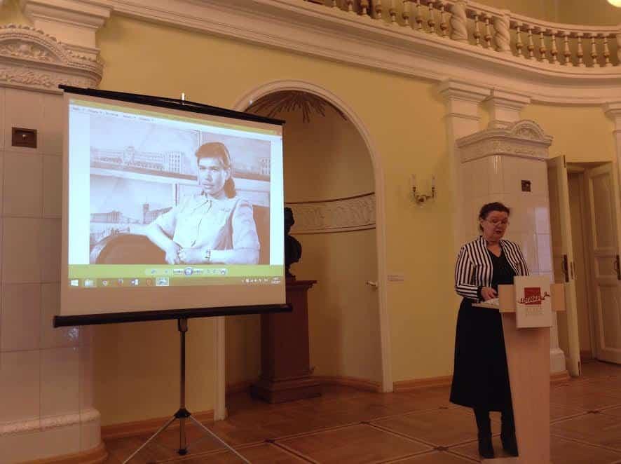 Елена Ициксон рассказывает об Эмилии Тентюковой
