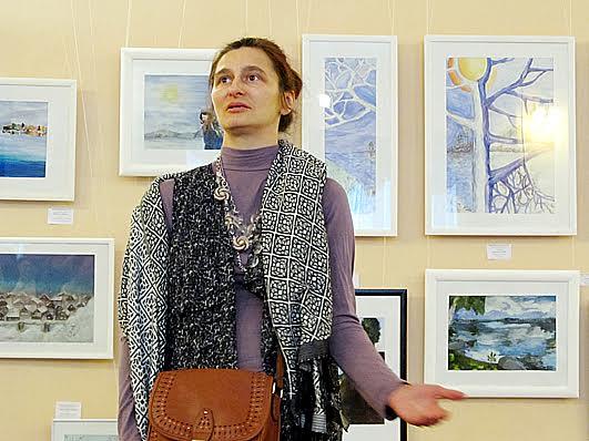 Мастер по керамике, художник-график Юлия Гущина была членом жюри