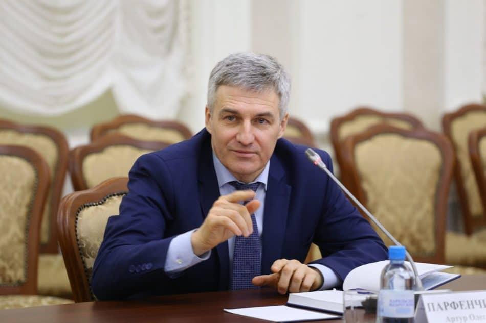 Артур Парфенчиков. Фото Владимира Ларионова
