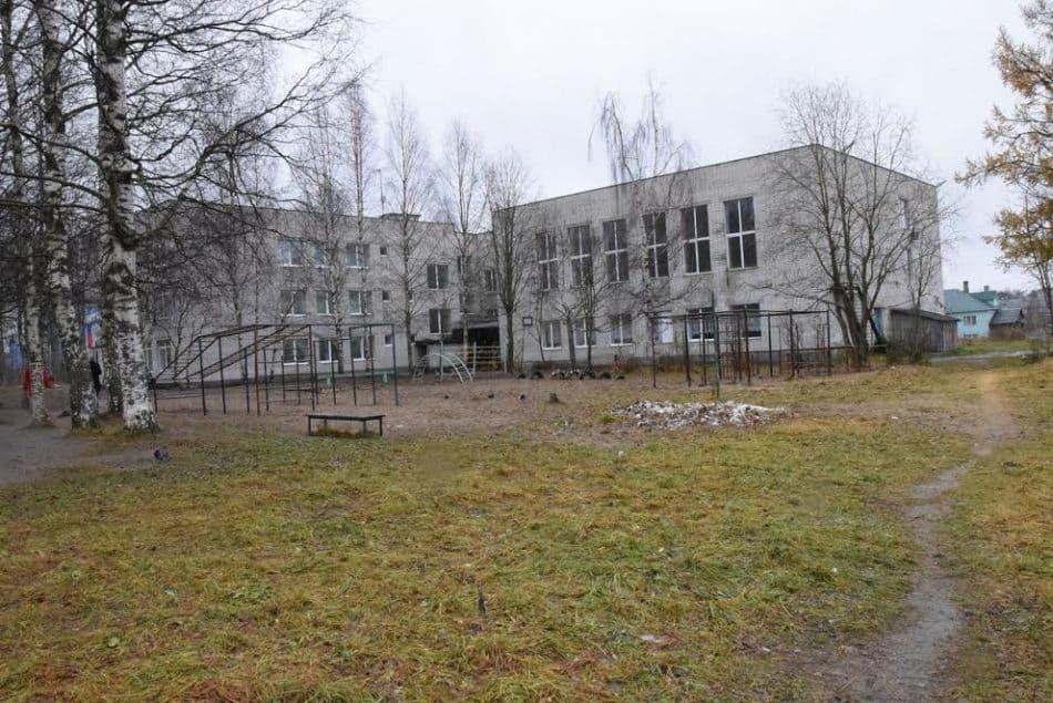 Школа в Пряже. Фото Марии Голубевой