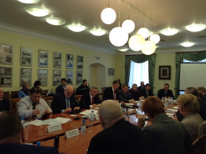 Во время специального заседания СПЧ по теме «Актуальные вопросы соблюдения прав человека в местах принудительного содержания»