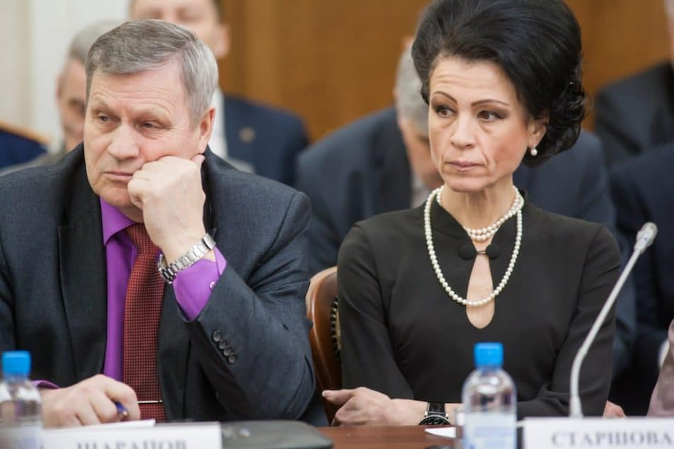 Александр Шарапов и Оксана Старшова. Фото Игоря Подгорного