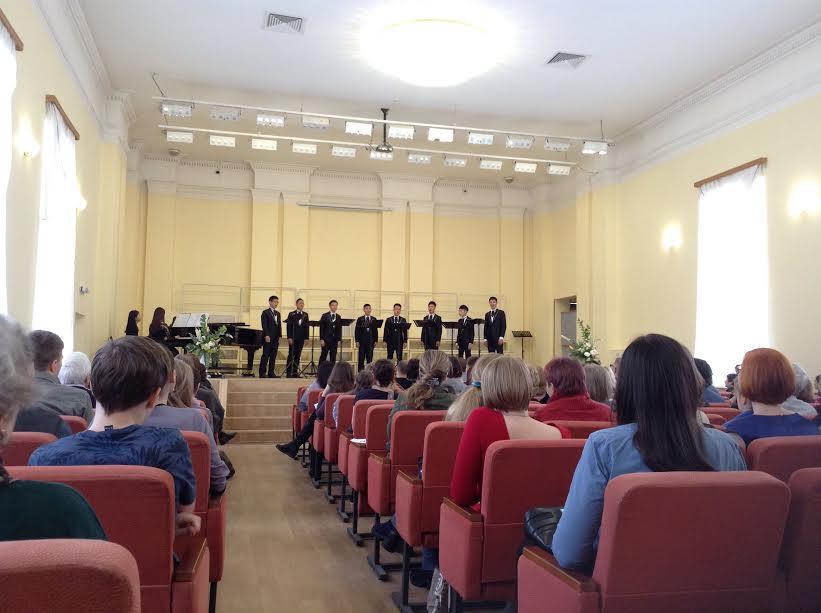 Концерт Taipei Male Singers в Петрозаводске. Фото Натальи Мешковой