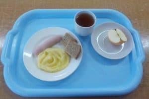 Завтрак стоимостью 56 рублей