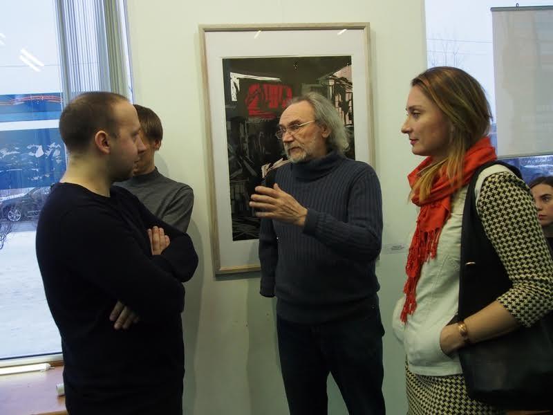 Художники (слева направо): Игорь Котуков Аркадий Морозов и Жанна Свиридникова