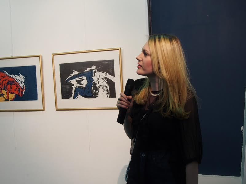 Евгения Лебедева, куратор выставки