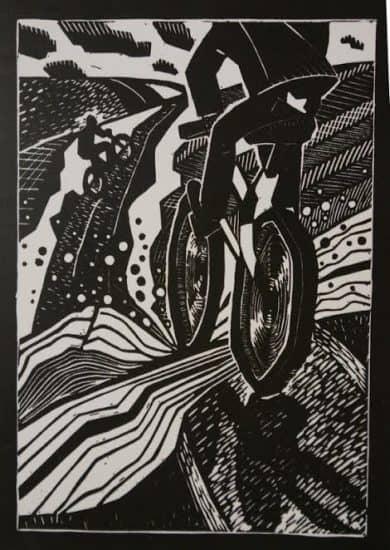Юлия Коросова. Велосипед