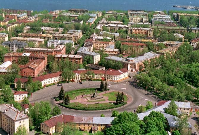 Центр Петрозаводска. Фото С. Майстермана