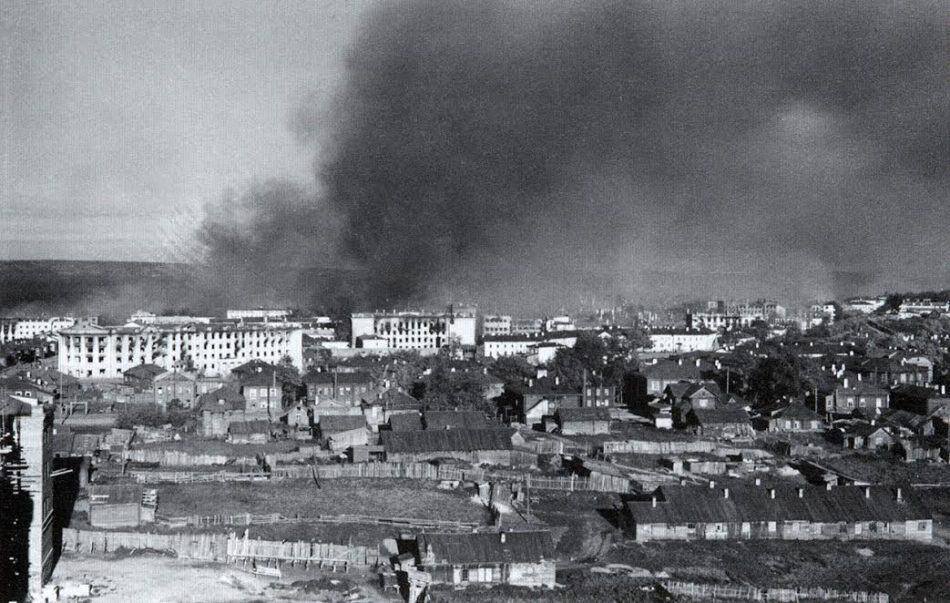 Петрозаводск, 1941 год. Фото с сайта SA-Kuva