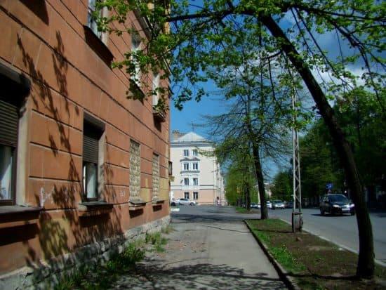 Улица Гоголя в Петрозаводске.