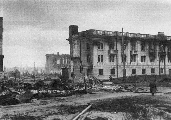Улица Дзержинского. Фото с сайта SA-Kuva