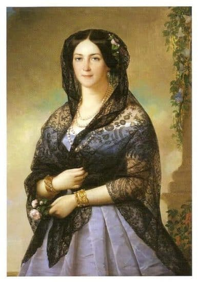 Алексис-Жозеф Периньон. Аврора Карамзина, 1853