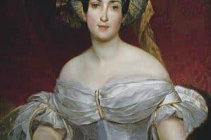 Карл Брюллов. Аврора Карловна Демидова. 1837 год