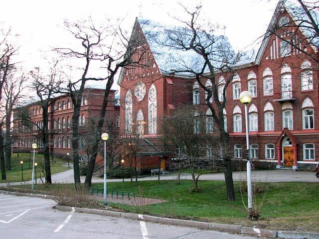 Институт сестер милосердия в Хельсинки, построенный на деньги Авроры Карловны Карамзиной