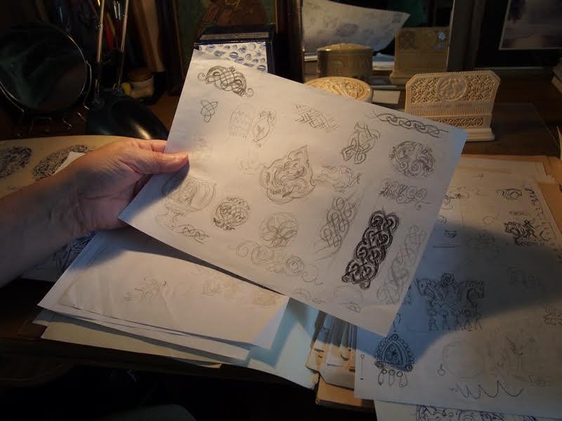 Зарисовки мастера