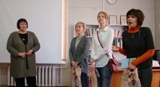 Как будет выглядеть книга, зависело от них - Любовь Герасёва, Марина Лапшова, Наталья Янина и Татьяна Площадная.