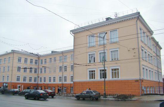Корпус университета, пр. Ленина, 29.фото Ю.Свинцовой