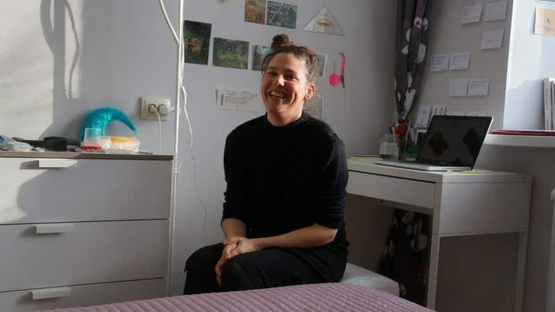 Элизабет Альтенбург в Карельской арт-резиденции