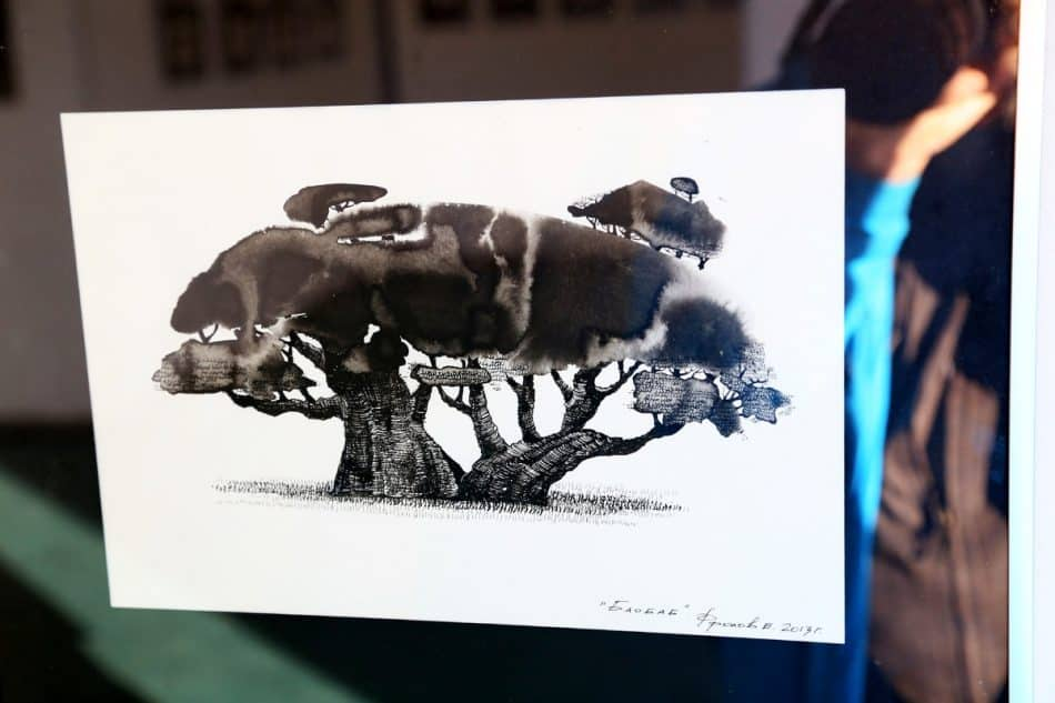 Выставка графики Евгения Фролова «Чёрным по белому».
