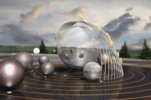В Петрозаводске вместо «Биг Бена» появится композиция на тему космоса