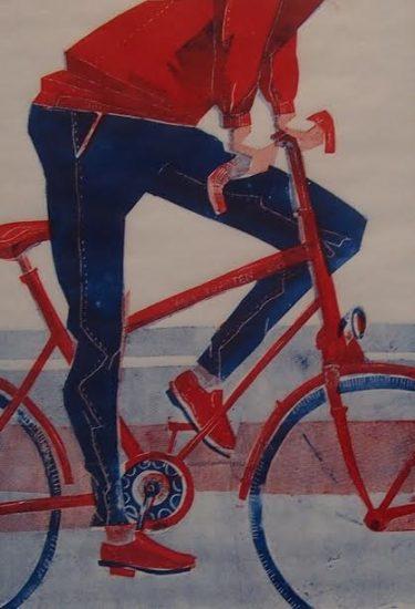 Мария Михайленко. Велосипедист