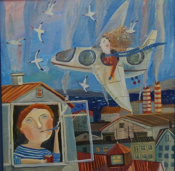 Вероника Вологжанникова. Чайки и самолеты летят на север