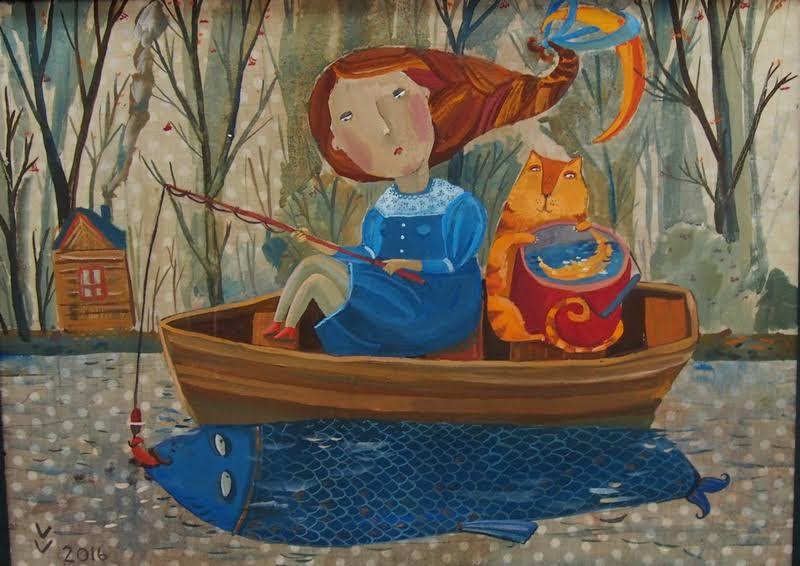 Вероника Вологжанникова. Рыба моя затаилась