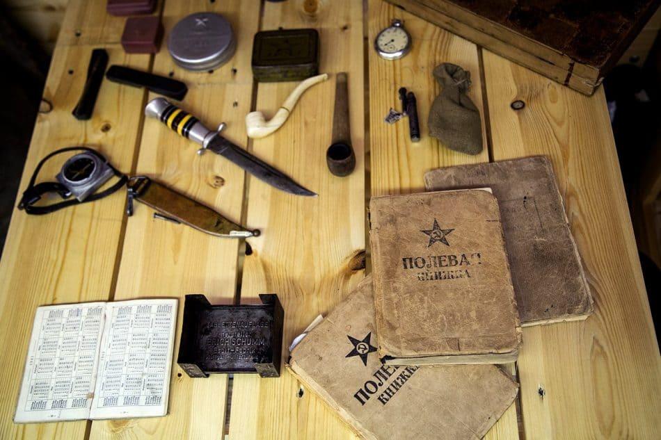 Часть экспозиции. Фото из группы НМ РК vk.com/rk_nationalmuseum