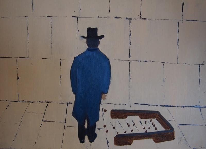 Шлемазл. Картина, посвященная художнику Хаиму Сутину