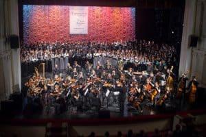 Сводный хор фестиваля