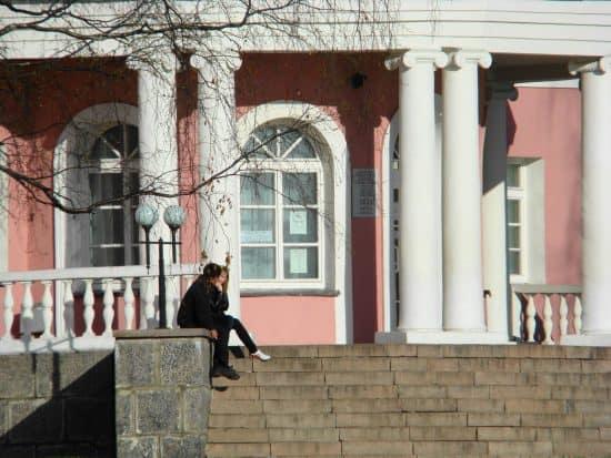ЗАГС Петрозаводска, архитектор Р.Корнев, фото Ю.Свинцовой