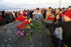 В Петрозаводске прошла акция в память о жертвах теракта в Санкт-Петербурге