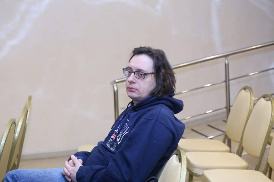 Андрей Аствацатуров в Петрозаводске. Фото Владимира Ларионова