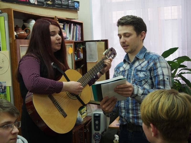Юлия Родина и Сергей Николаевич Брозницкий