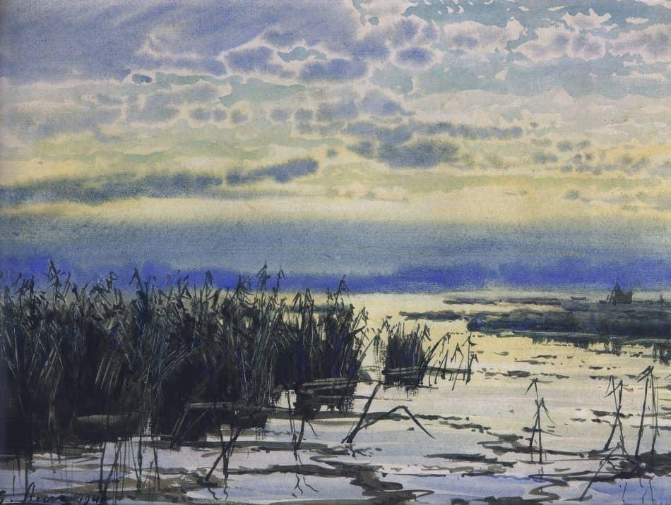 Камышовый залив. 1944 год