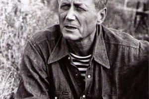 Евгений Евтушенко читает стихи на Юсовой горе