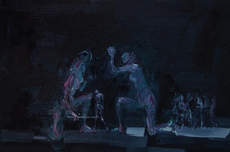 """Сергей Терентьев. Сценография к трагедии Софокла """"Аякс"""" 5"""