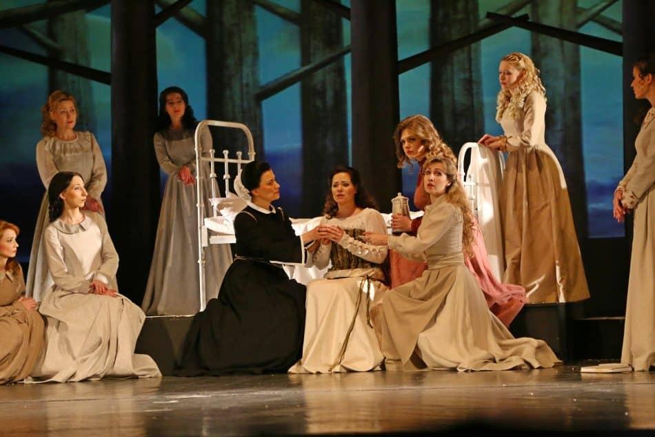 В Музыкальном театре Карелии прошла премьера оперы П.И. Чайковского «Иоланта». Фото Владимира Ларионова