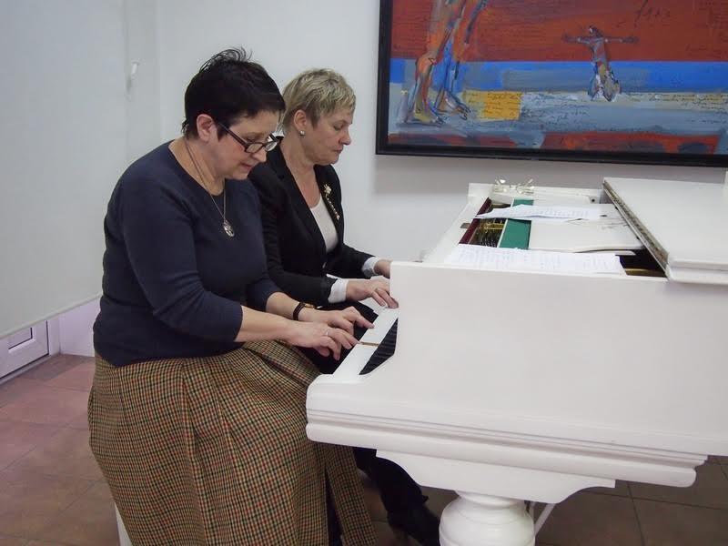 Ирина Смирнова и Лидия Побединская