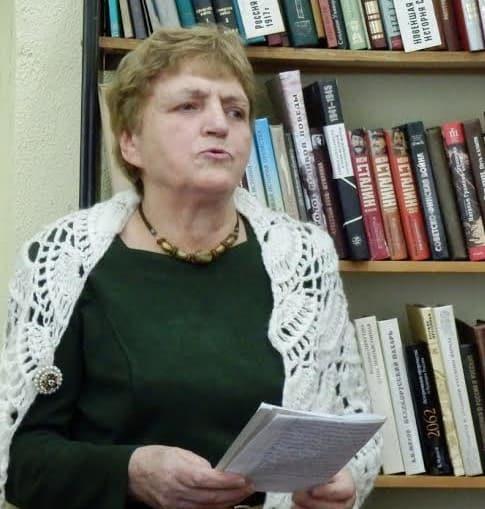 Свое стихотворение «Сон», посвященное заонежанам, читает автор и волонтер первой книги В.Д. Соловьева