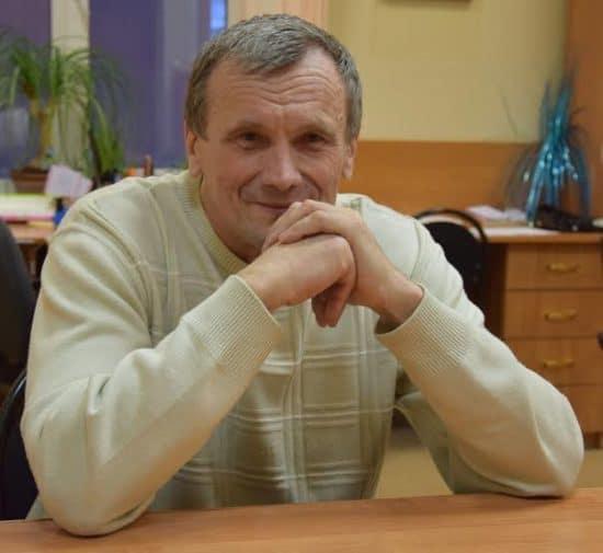 Профессор Александр Иванов. Фото Марии Голубевой