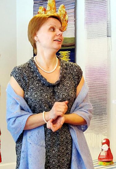 Руководитель студии Валерия Мошнягуца